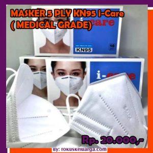 masker 5 ply 5ply kn95 kn 95 grade medical merk i-care