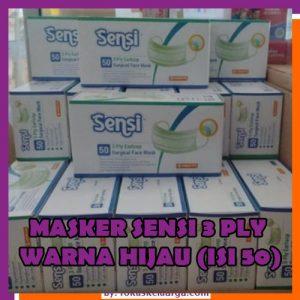 Masker 4 Ply Premium Merk SENSI Original 4 Ply