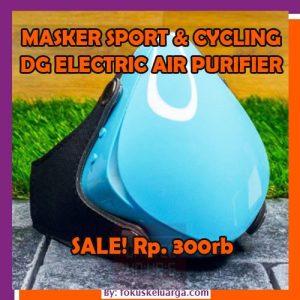 Masker Transparan Dengan Personal Air Purifier