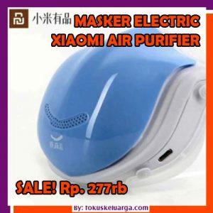 Masker Elektirk Xiaomi Dengan Personal Air Purifier