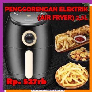 Penggorangan Elektronik PenggorenganTanpa Minyak Air Fryer Microwave 2,5 liter