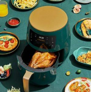 Penggorangn Elektrik Penggorengan Tanpa Minyak Air Fryer Microwave 4,5 liter