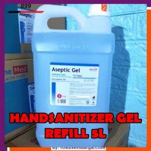 Refill Isi Ulang Hand Sanitizer Gel 5000ml Dengan Moisturizer