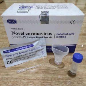 Swab Antigen Rapid Antigen Metode Air Liur Saliva